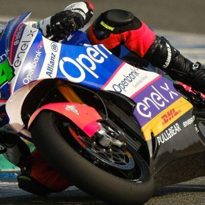 Jerez FP4 test: Fermin Aldeguer the fastest