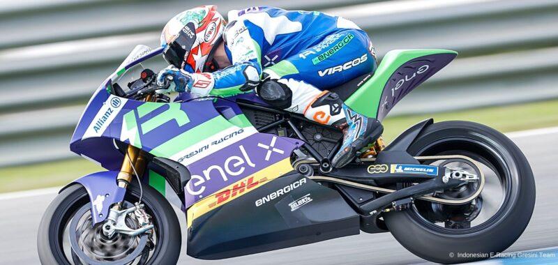L'Indonesian E-Racing Gresini MotoE a Jerez già competitivo
