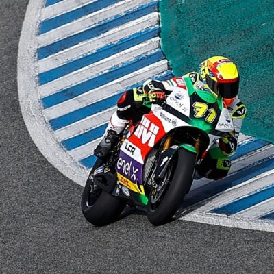 Positive debut of the LCR E-Team riders in the Jerez test