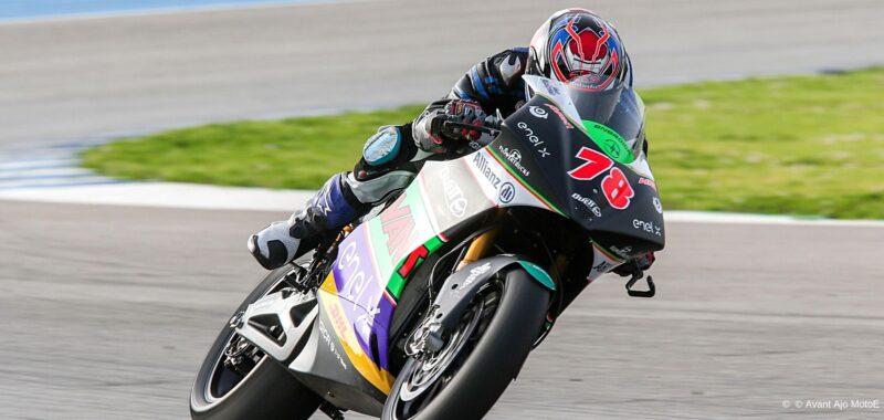 Jerez Test: il primo contatto con la MotoE per Hikari Okubo
