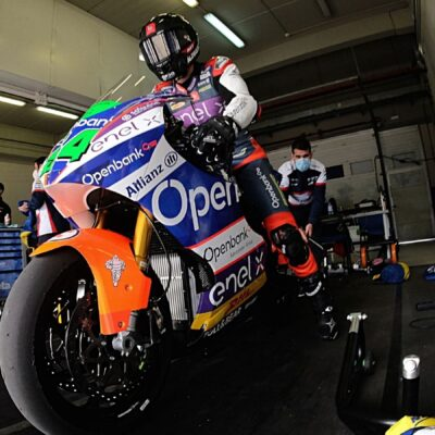 The last test before the start of the MotoE 2021