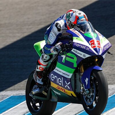 Test complicati per l'Indonesian E-Racing Gresini team