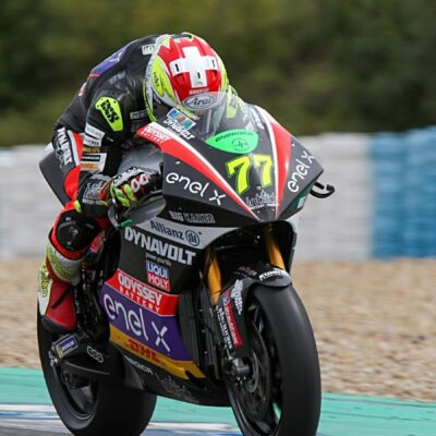 Jerez Test: excellent performance for Dominique Aegerter