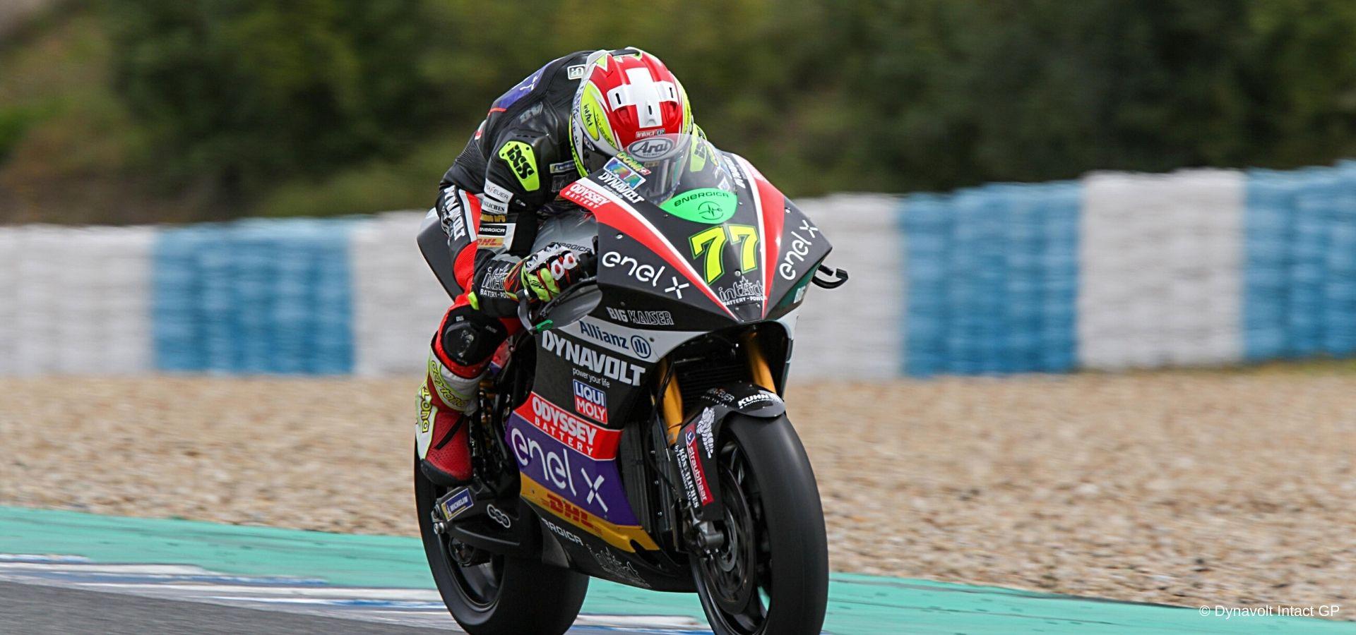 Jerez Test: ottima prestazione per Dominique Aegerter
