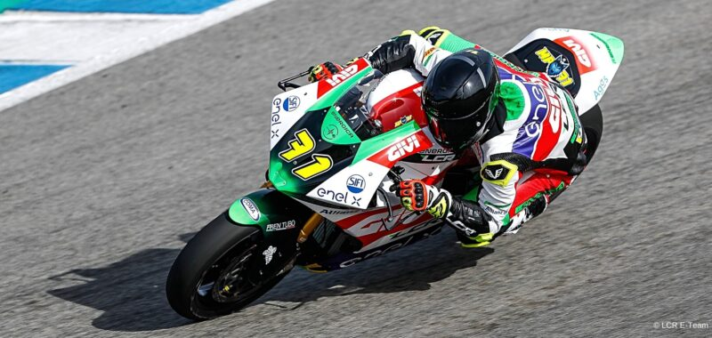 Very promising results for the LCR E-Team in the Jerez tests