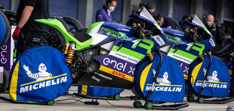 In MotoE il futuro delle gomme della MotoGP