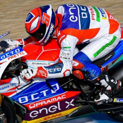 GP Spanyol: Alessandro Zaccone memenangkan balapan pertama pada tahun 2021