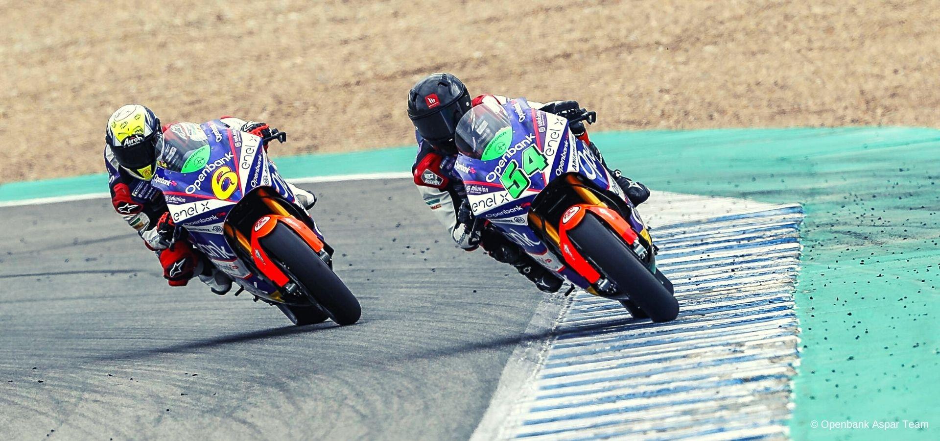 I piloti del team Aspar chiudono in 5a e 13a posizione i test di Jerez
