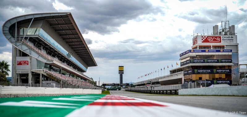 The schedule of the MotoE for the Catalan GP