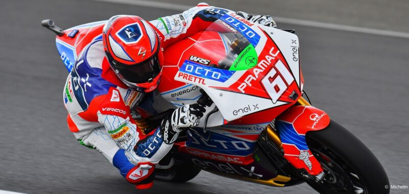 Zaccone and Hernandez in Top 5 with Pramac team in the Catalan GP