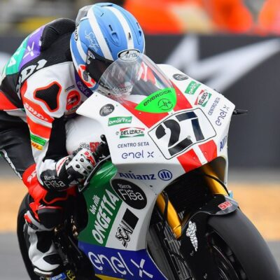 Record comeback for Mattia Casadei in the French GP