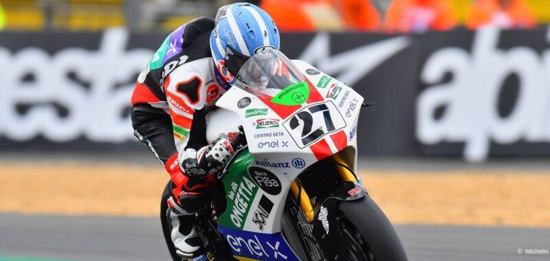 Rimonta da record per Mattia Casadei nel GP di Francia