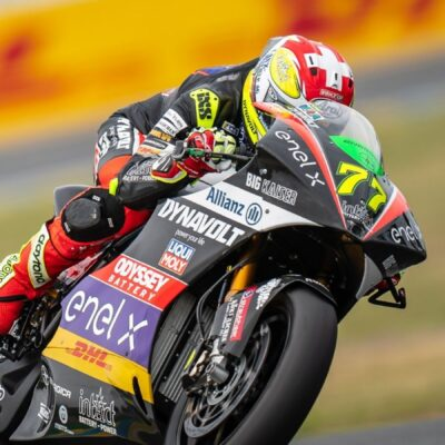 Aegerter ends with a strong fourth place in the FrenchGP