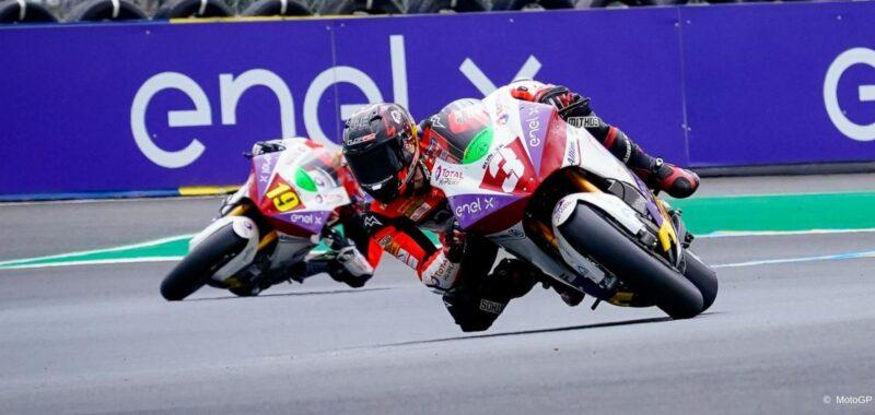 Primi punti per il team Tech3 E-Racing nel GP di casa