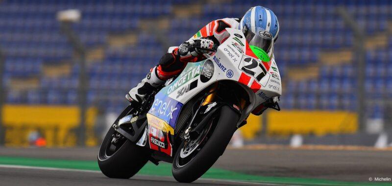 La dedica di Paolo Simoncelli a Mattia Casadei per la gara di Le Mans