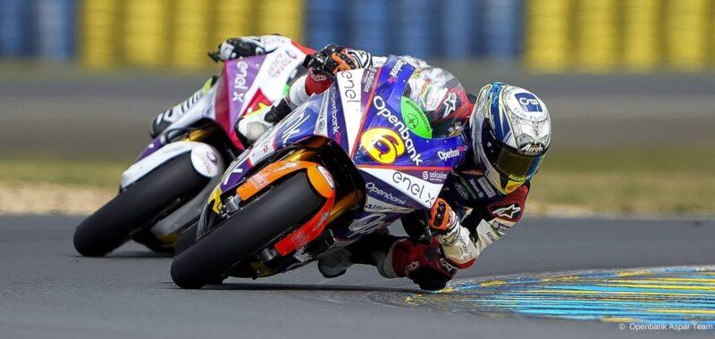 Maria Herrera in Top 10 also in Le Mans