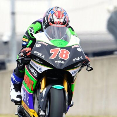 Unlucky race for Hikari Okubo in the French GP