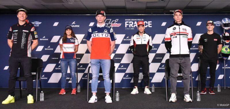 La conferenza stampa dei piloti MotoE a Le Mans