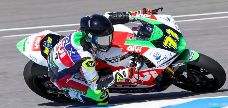 Miquel Pons and the LCR E-Team gain their first victory in MotoE