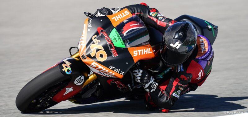 Jordi Torres' podium in the first race of 2021