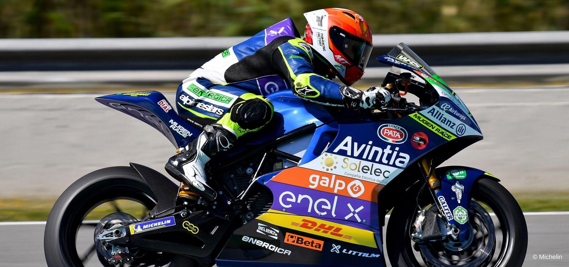Poin pertama masuk MotoE untuk Pires sementara Cardelus jatuh di tengah perlombaan