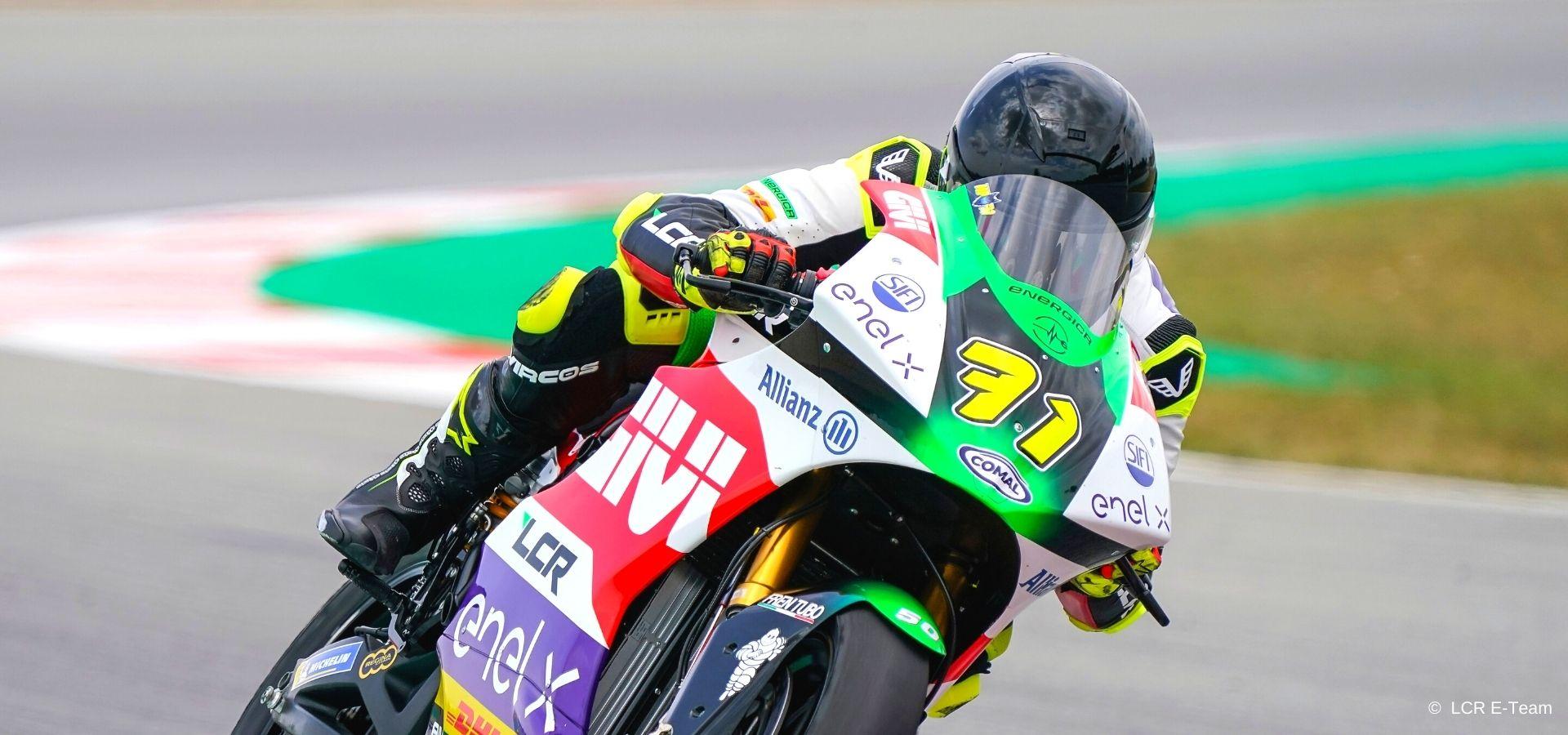Miquel Pons conquista il podio a Misano, quarto Zannoni