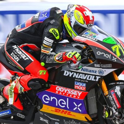 Aegerter gains second place in the Catalan GP