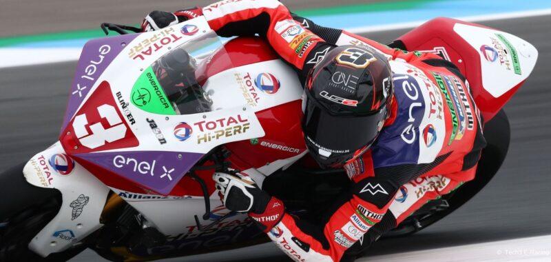 Venerdì promettente per il team Tech3 E-Racing ad Assen