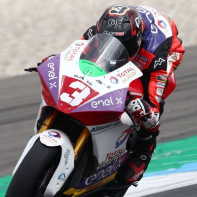Front row for Lukas Tulovic in the Dutch GP in Assen