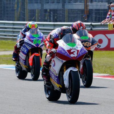 Il team Tech3 E-Racing prosegue la sua crescita nel GP d'Olanda