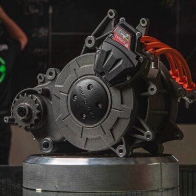 EMCE il nuovo motore elettrico delle moto di Energica