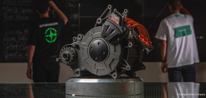 EMCE is the new electric motor of the motorcycles of Energica
