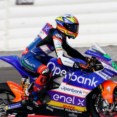 GP Austria FP3: Fermin Aldeguer in first position