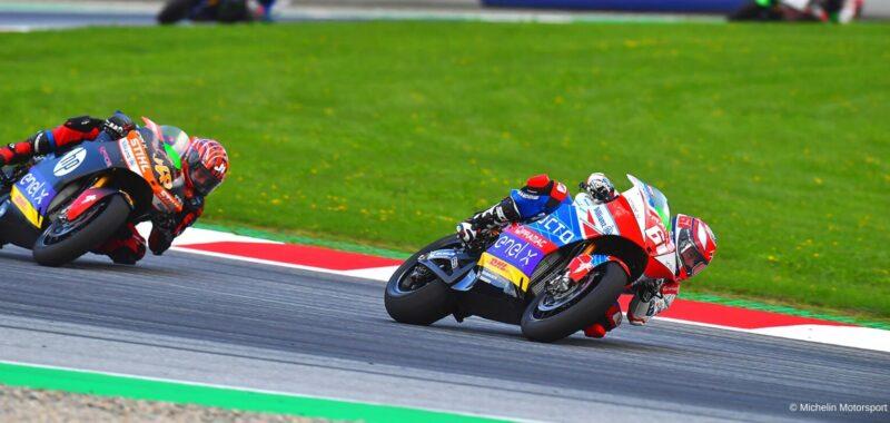 La nuova classifica della MotoE dopo il GP in Austria