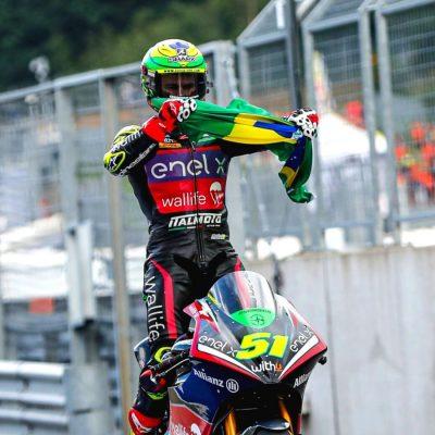 Eric Granado, il pilota brasiliano del motomondiale.