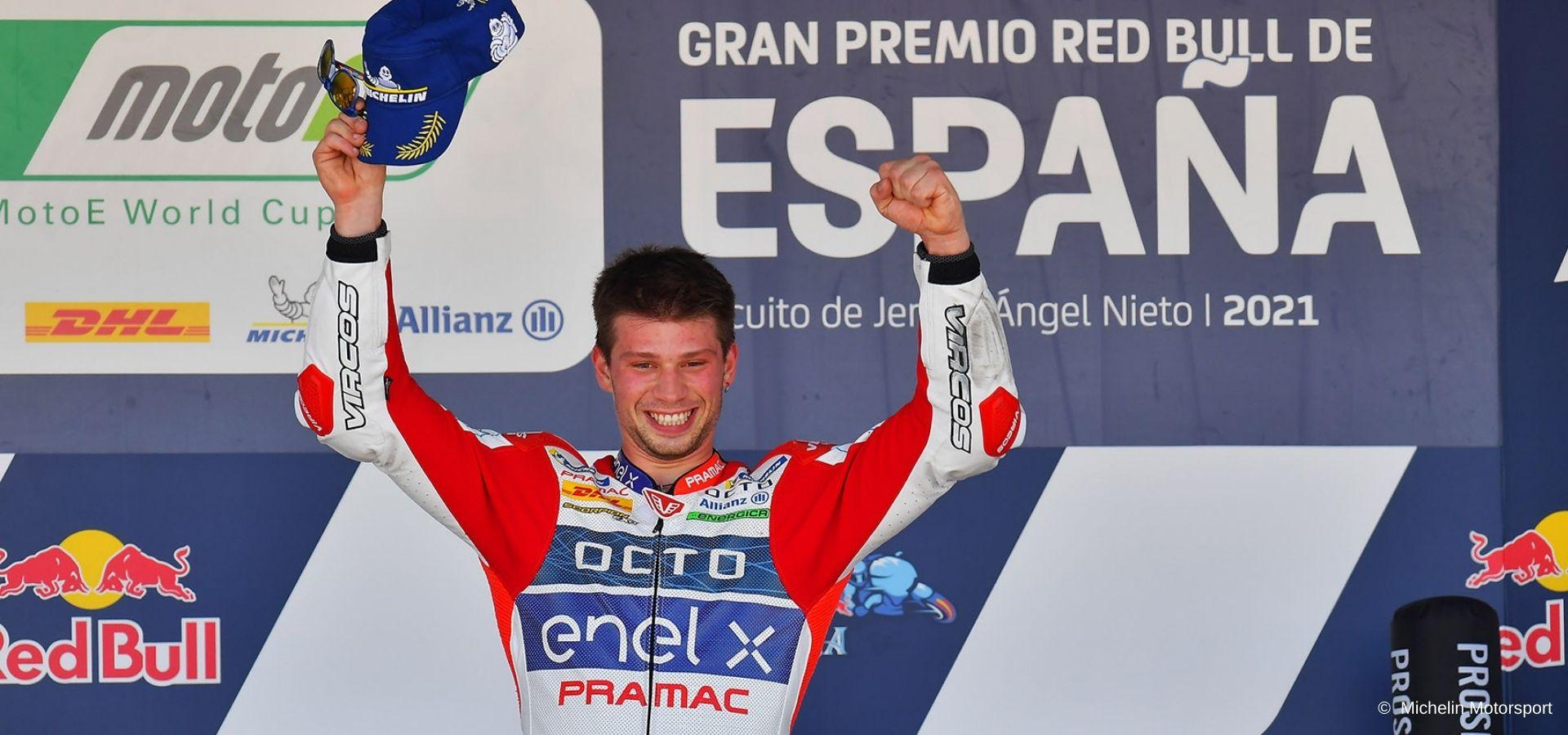 Alessandro Zaccone: from the scary crash in Misano to Moto2