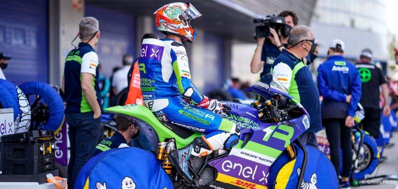 Il team Gresini si prepara alla gara di casa  sul circuito di Misano