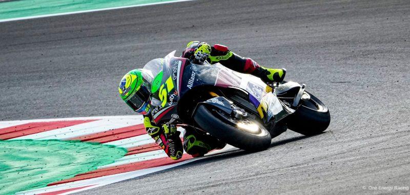 Crash at the last corner for Granado in Race 1 at Misano