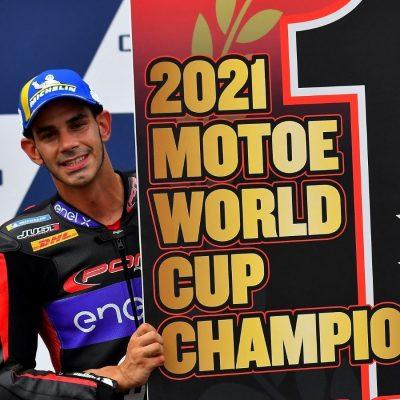 La classifica finale della MotoE World Cup 2021