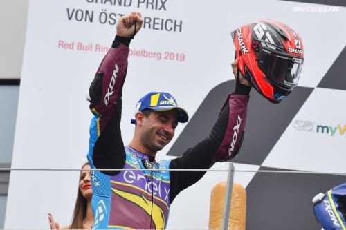 Mike Di Meglio podio