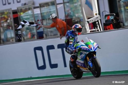Matteo Ferrari Misano MotoE Traguardo