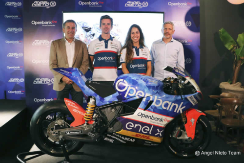 Presentation of Angel Nieto Team