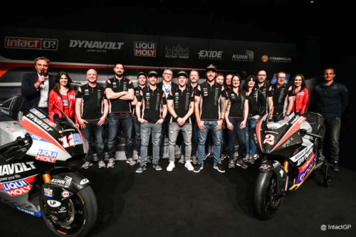 Presentation of Team Dynavolt Intact GP