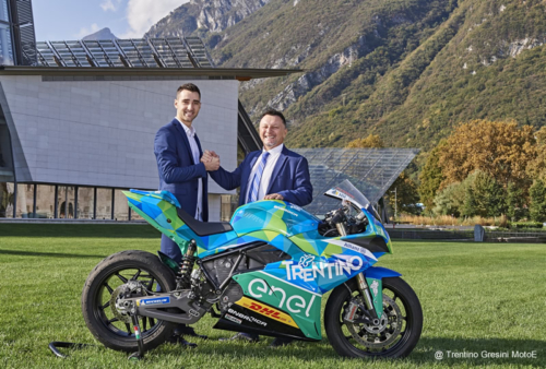 Presentation of the Trentino Gresini Team MotoE